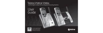 User Guide - Telstra Home Phones