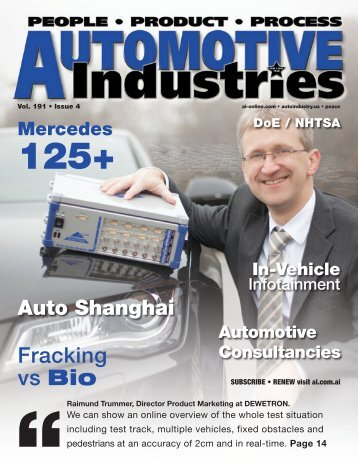 Q4 2012 - Automotive Industries