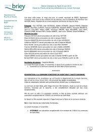 Délibérations du 25 juin 2013 - Briey