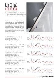 ... die perfekte Wellendekoration genial einfach - einfach ... - Porschen