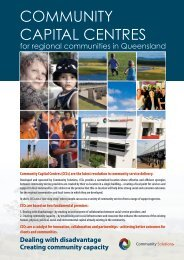 community solutions capital centres brochure - Working Planet