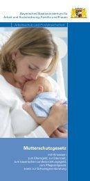 Mutterschutzgesetz - Familienportal Donau-Ries