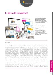 Be safe with Compliance! - Compliance Training