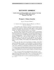 KEYNOTE ADDRESS - University of Miami Law Review