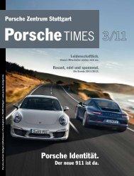 Porsche Identität. - Porsche Zentrum Stuttgart