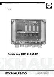 Relais box ES12-EU-01 - Stude Kaminbau