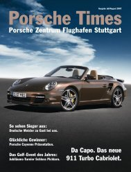 Porsche Zentrum Flughafen Stuttgart