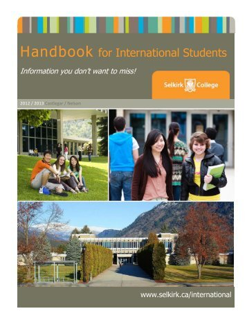 International Student Handbook - Selkirk College