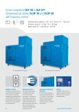 Screw compressor SF 15 to SF 29-2 Compressed air station SDF 15 ... - Page 5