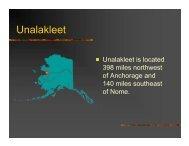 Unalakleet - Climate Change in Alaska