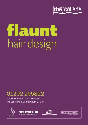 hair design - The Bournemouth & Poole College