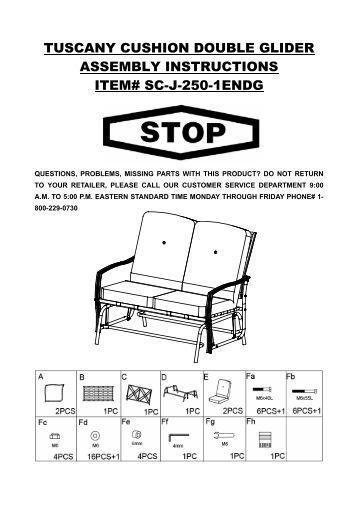 11 X13 South Hampton Gazebo Instruction Manual Item