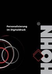 Personalisierung im Digitaldruck - Dr. Karl Höhn GmbH