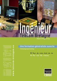 plaquette formation d'ingénieur généraliste - Télécom Bretagne