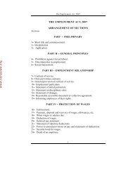 Employment Act - Kenya Law Reports