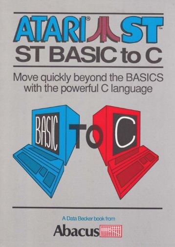 ST Basic to C