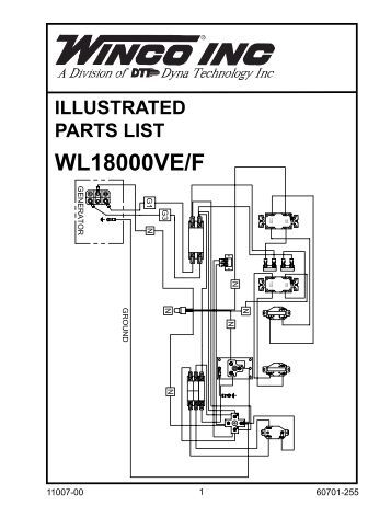 Illustrated parts lists ac and dc generator winco www standby generator wiring diagram asfbconference2016 Images