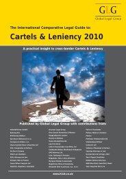 Cartels & Leniency 2010 - Plesner