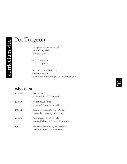 Applied Arts Magazine Pol Turgeon