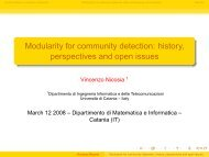 Modularity for community detection: history, perspectives and open ...