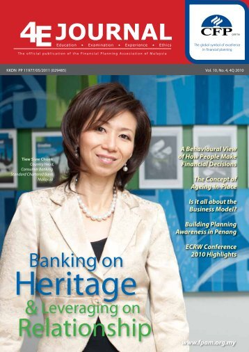 Vol 10, No 4 - Financial Planning Association of Malaysia