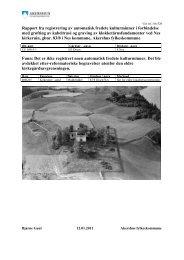 Rapport fra registrering av automatisk fredete kulturminner i ...