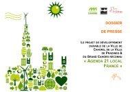 Agenda 21 Local France - Cahors