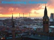 Danmarks mest ambitiøse plan for tilpasning til ... - Grontmij