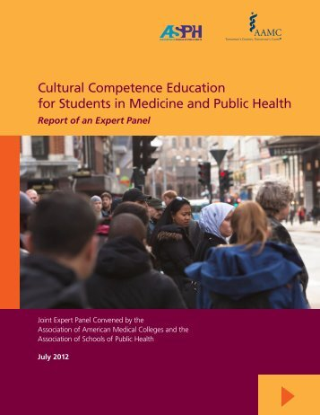 Cultural Competence Education for Students in Medicine and Public