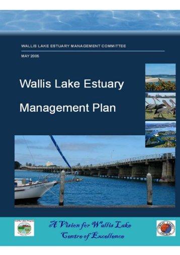 13.2 The Wallis Lake Estuary Management Committee - Great Lakes ...