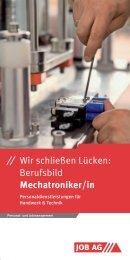 Berufsbild Mechatroniker/in - Job AG