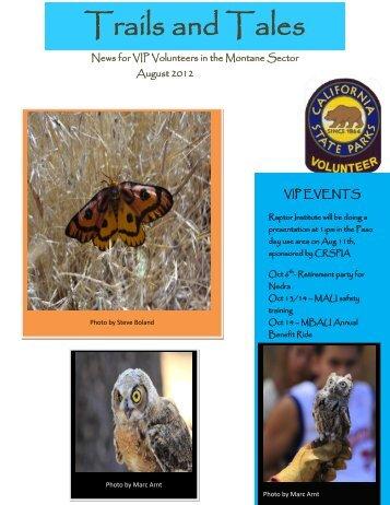August 2012 - Palomar Mountain State Park