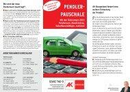 Pendlerpauschales - AK Burgenland - Arbeiterkammer