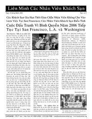Cuoäc Ñaáu Tranh Vì Bình Quyeàn Naêm 2006 Tieáp Tuïc Taïi San ...