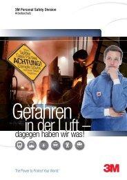 Gefahren in der Luft PDF - 3M Safety Division - Arbeitsschutz