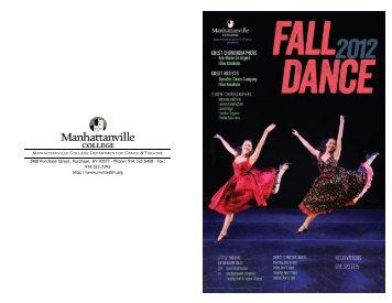 Fall 2012 Dance Concert - Mvilledth.org