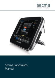 Download Secma SonoTouch brugermanual (.pdf)