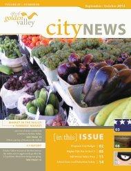September/October 2012 - City of Golden Valley