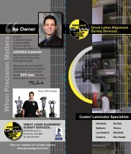 Download Brochure - Great Lakes Alignment Survey Services