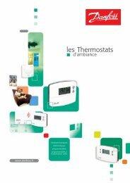 Les thermostats d'ambiance Danfoss