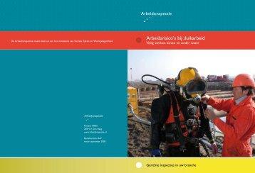 Arbeidsrisico's bij duikarbeid - Veilig werken boven ... - Inspectie SZW