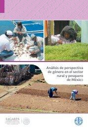 3 Análisis de perspectiva de género en el sector rural y pesquero de México