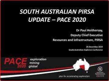 pace 2020 - SA Explorers