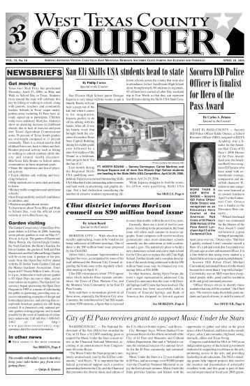 WTCC 2003 - West Texas County Courier