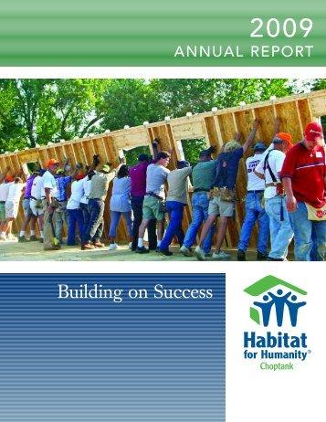 Building on Success - Habitat for Humanity Choptank