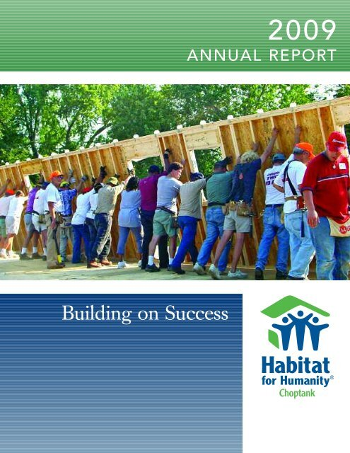 Building on Success - Habitat for Humanity Choptank