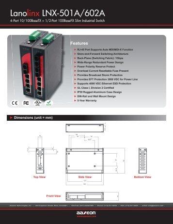 Lanolinx LNX-501A/602A - NextWarehouse.com