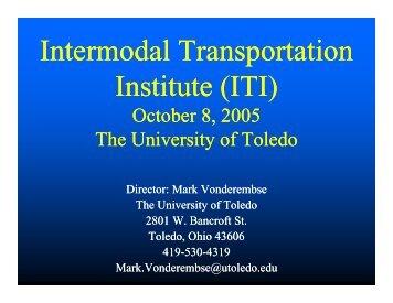 ITI - Great Lakes Maritime Research Institute