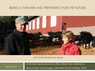 Being a farmer and preparing for the future - Baltic COMPASS