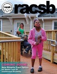 Summer 2013 - Rappahannock Area Community Services Board
